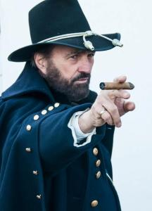 General Grant at Fort Donelson pointing