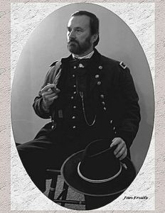 Ft. Donelson 152nd, 2014 Grant portrait seated photo by Jan Fruits