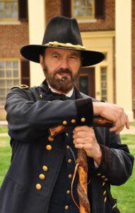 Shiloh 15 General Grant crutch by David Hessell