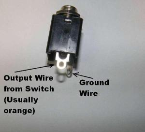 Wiring InputOutput Jacks | General Guitar Gadgets