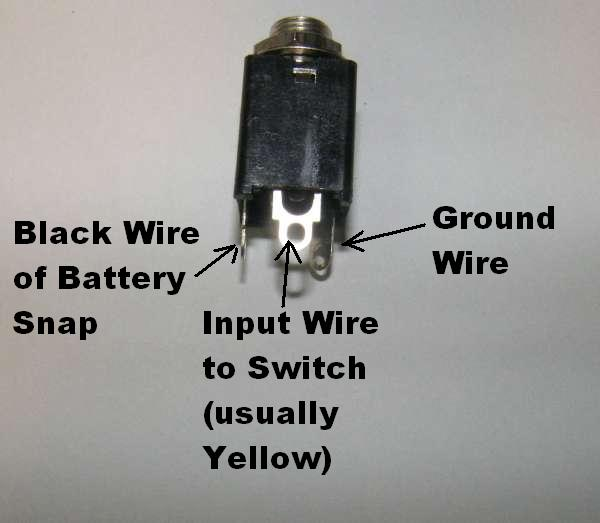 guitar output jack wiring diagram block to signal flow graph input jacks general gadgets an stereo enclosed