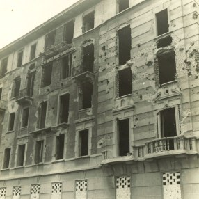 Milan, Via Tertulliano 35-39 (1945)