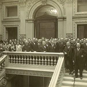 Michele Sulfina e la Direzione di Trieste, secondo scatto (Trieste, 1927)