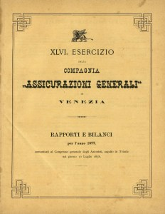 1877 Financial Statements in lire (1878)