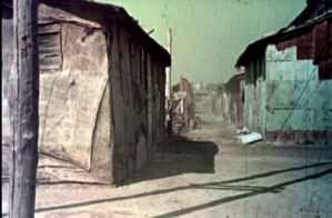 Frame from Case per il popolo before the Quadraro neighbourhood in the INA-Casa Plan (1953)
