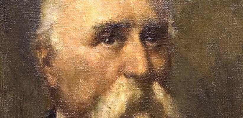 Gino Parin, Daniele Francesconi, olio su tela (fine anni venti del XX sec.) / ph. Massimo Goina