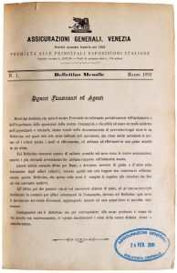 Bollettino n. 1 (1893)