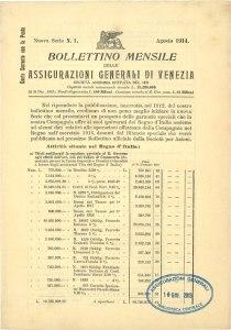 Bollettino n. 1 (1914)