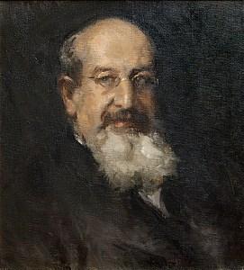 Gino Parin, ritratto di Edmondo Richetti, olio su tela (fine anni Venti) / ph. Massimo Goina
