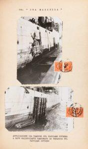 Perizia sul piroscafo Dea Mazzella, corredo fotografico (Napoli, 25 settembre 1942)