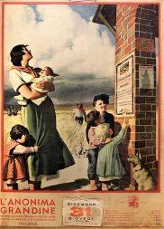 Gino Bocasile, Anonima Grandine Calendar (1936) / ph. Massimo Goina