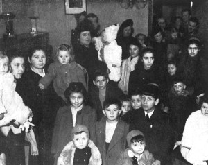 Celebrations of the Fascist Befana at the headquarters of the Franco Chiais recreational club (Venice, 1942)