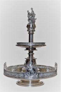 Josef Carl Klinkosch, alzata commemorativa, argento (1872), Collezione d'arte Gruppo Generali, ph. Duccio Zennaro