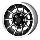 American Racing VN47 Vector Satin Black Wheel with Machined Face 15x85 5x114