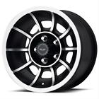 American Racing VN475765B Wheel VECTOR 15x7 5x11430 BLACK 0 mm