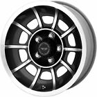 15x7 Anthracite American Racing Vintage Vector SE Wheels 5x45 +0 DODGE CHARGER