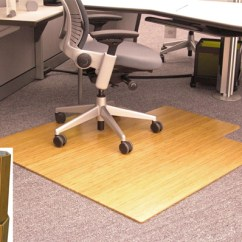 Bamboo Chair Mat Posture Executive Leather Amb24010 Anji Natural Desk 245 00 48 X 52 5 1 Mountain Rug Company Offers A Full Line Of Mats To Protect Your