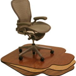 Desk Chair Mats Wedding Rental Cost Environmentally Friendly Office Eco Workplace Wood Made By Snapmat Inc