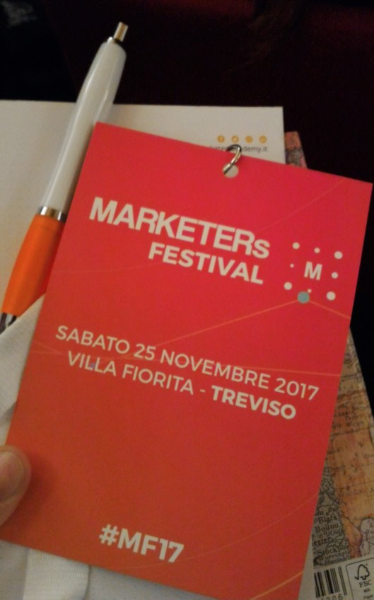 MARKETERs Festival Badge