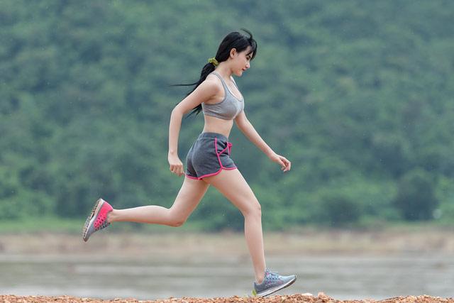 Running cardio workout