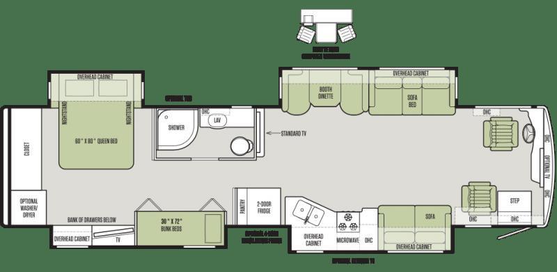 12 Must See RV Bunkhouse Floorplans General RV Center
