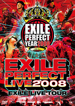 EXILE Live Tour EXILE Perfect Live 2008  generasia