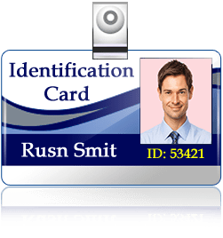 id card design corporate