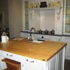 Pine Kitchen Bench Red And White Canisters G4 Timber Tops Kings Woodworking Company Baltic 1