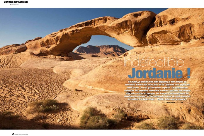 Voyage 4x4 Jordanie