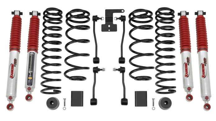 Kit suspension Wrangler JL