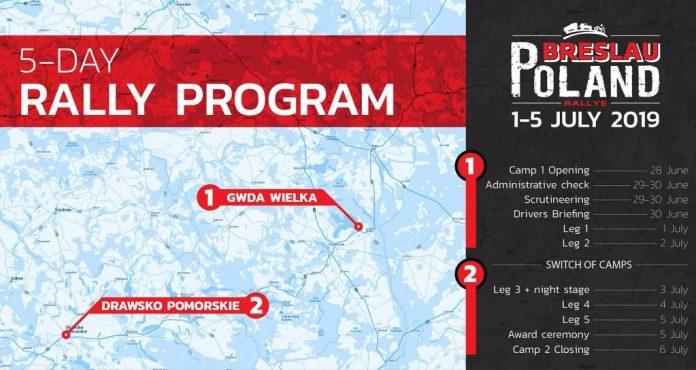 Breslau rallye Pologne 2019