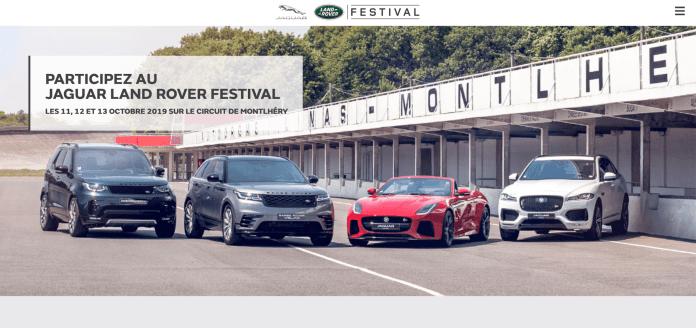 New Defender jaguar land rover festival 2019