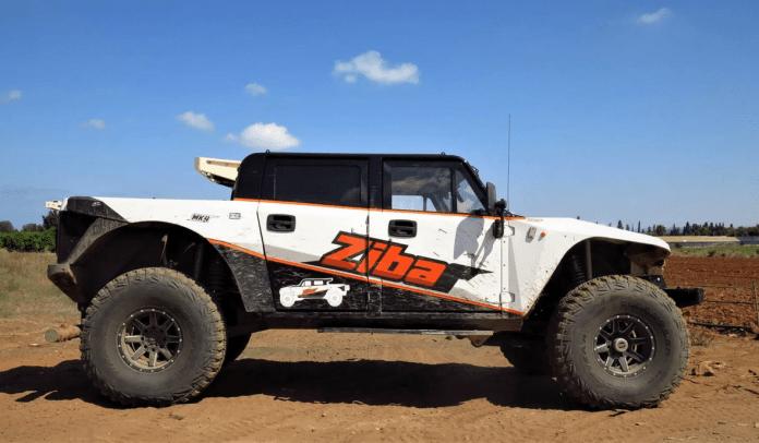 Zibar 4L'héritier du Hummer - 4x4 V8 militaire préparation
