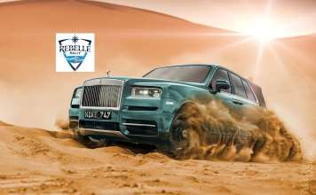 Rolls Royce Cullinan rebell rally 2019