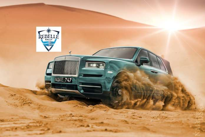 Rolls Royce Cullinan rebell rally 2019