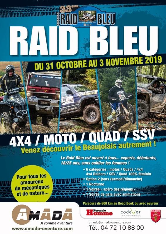 Raid Bleu Amada Aventure