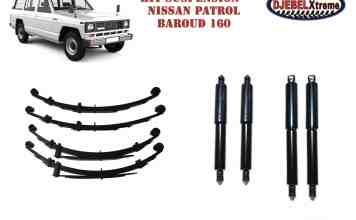 kit suspension RIDEPRO en promotion pour le Nissan Patrol Baroud 160