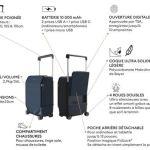 Kabuto valise connectée pratique