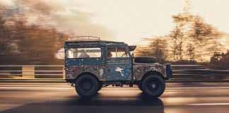 First Overland 1955 Last overland 2019 Land Rover