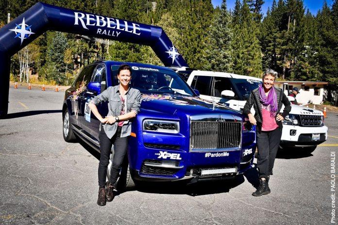 Le SUV Rolls Royce Cullinan vainqueur du Rebelle Rally 2020