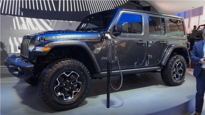 Jeep Wrangler 4xE hybride