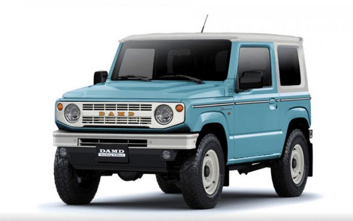 Suzuki Jimny préparation 4x4 DAMD
