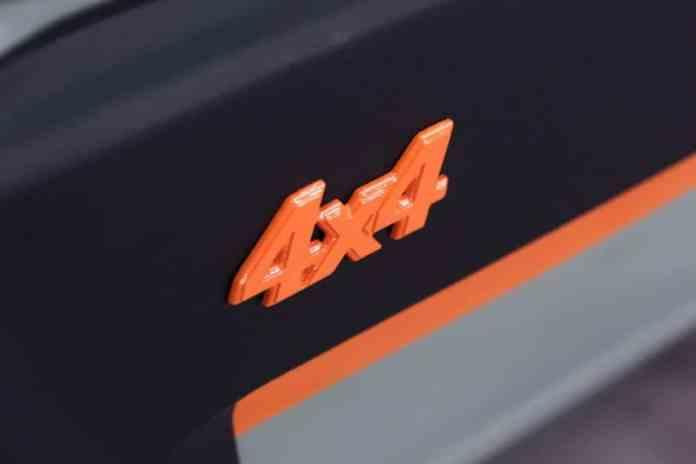 atelier et designer branché italien s'est attaqué à la Fiat Panda 4x4 qui est passé au Retrofit,