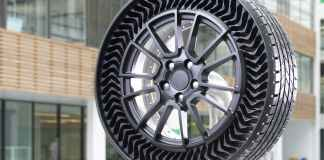 Michelin Uptis le pneu increvable