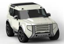 Land Rover Baby Defender 2021