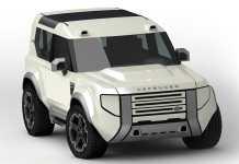 Land Rover Baby Defender 2021