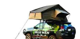Ironman nous informe d'un arrivage massif de Tente de toit, normal les beaux jours c'est pour bientôt.