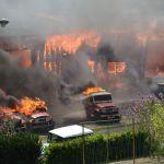 Incendie chez Teseven toyota classic