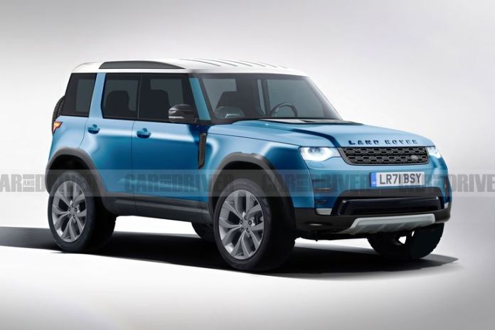 Land Rover Mini Defender