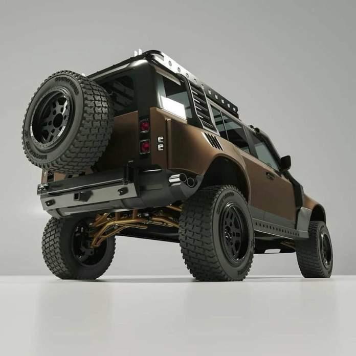 Le Nouveau Defender ou Defender2 équipements et accessoires 4x4